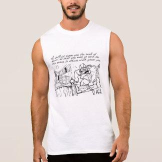 Inflija el gran dolor (el demonio) camisetas sin mangas