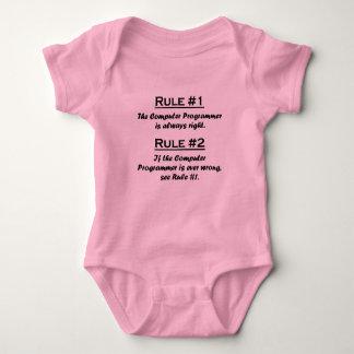 Informático de la regla body para bebé