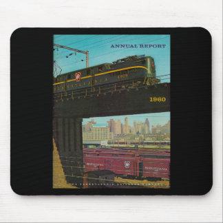 Informe anual 1960 del ferrocarril de Pennsylvania Alfombrilla De Ratón