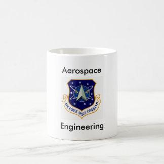 Ingeniería aeroespacial taza de café