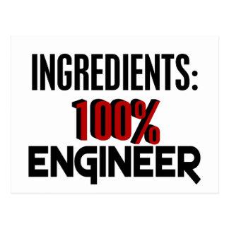 Ingeniero del 100% postal