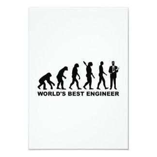 Ingeniero del mundo de la evolución el mejor invitación