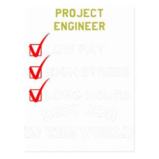ingeniero del proyecto postal