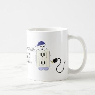 Ingeniero eléctrico taza de café