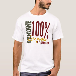 Ingeniero informático auténtico camiseta