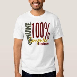 Ingeniero informático auténtico camisetas