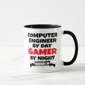 Ingeniero informático del videojugador taza