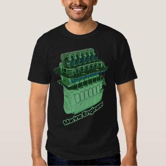 Ingeniero marino (HOMBRE) - negro Camiseta