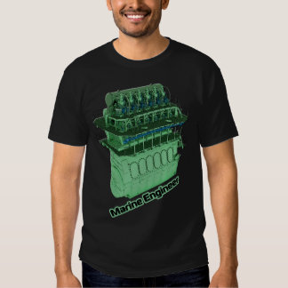 Ingeniero marino (HOMBRE) - negro Camisetas