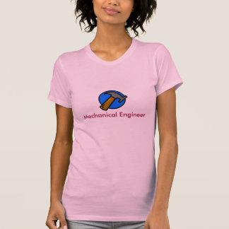 ingeniero mecánico, industrial camiseta
