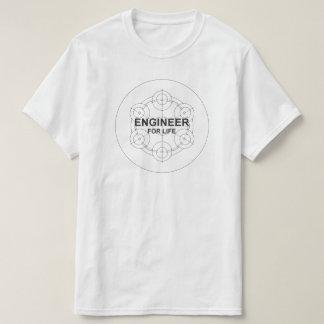 Ingeniero para la vida camiseta