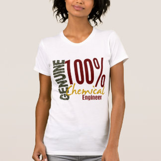 Ingeniero químico auténtico camisetas