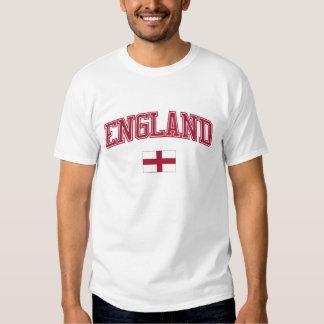 Inglaterra + Bandera Camiseta