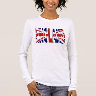 Inglaterra Camiseta De Manga Larga