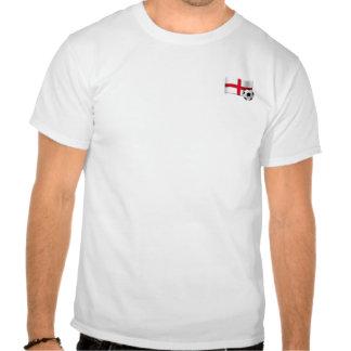 Inglaterra hasta mí muero los regalos de la bander camiseta