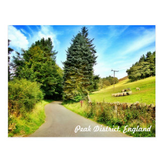 ¡Inglaterra rústica! Postal