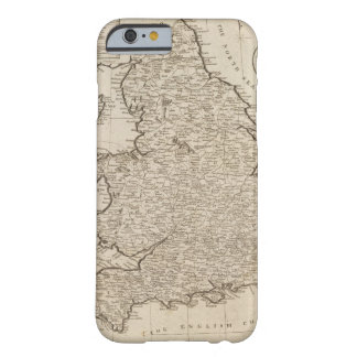Inglaterra y País de Gales 6 Funda Barely There iPhone 6