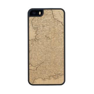 Inglaterra y País de Gales 6 Funda De Madera Para iPhone SE/5/5s