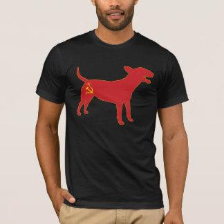 Inglés bull terrier/camiseta comunista de URSS Camiseta
