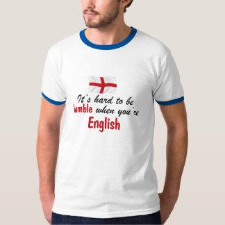 Inglés humilde camisas