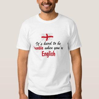 Inglés humilde camiseta