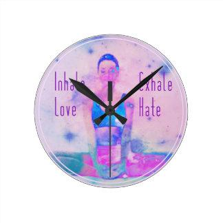 Inhale el reloj del amor