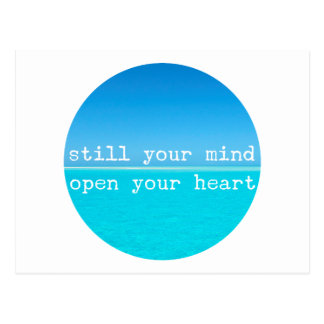 Inhale exhalan cita de relajación de la meditación postal