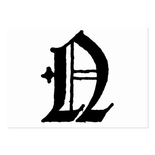 Letra gotica N - Imagui
