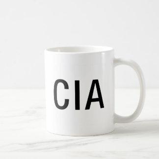 Iniciales/letras de la Cia Taza De Café