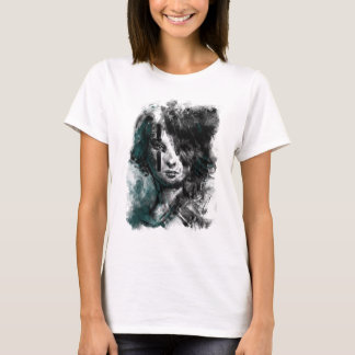 Ink and Color Girl Camiseta