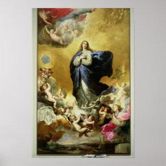 Inmaculada Concepción, 1635 Póster