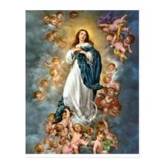 Inmaculada Concepción de Maria Postal