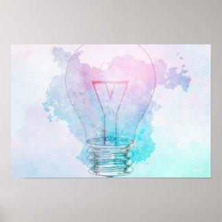 Innovación de la creatividad y del negocio como póster