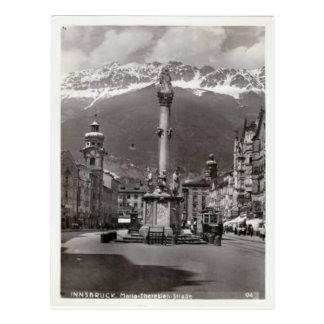 Innsbruck, tranvía en Maria Teresa Starsse Postales
