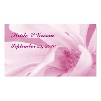 Inocencia 2: Tarjeta color de rosa del favor del Tarjetas De Visita