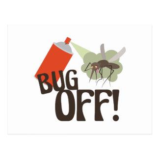 ¡Insecto apagado! Postal
