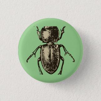 """Insecto verde 2"""" botón redondo"""