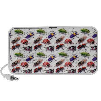 ¡insectos de los insectos de los insectos! iPod altavoces
