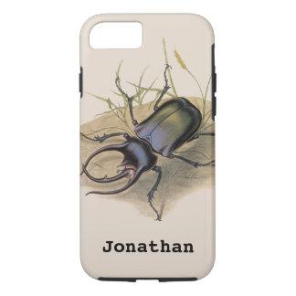 Insectos e insectos, escarabajo del vintage de funda iPhone 7