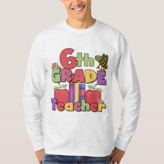 Insectos y 6to profesor del grado de las manzanas camisetas