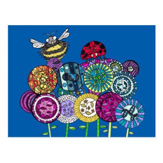 Insectos y postales de Fleurs
