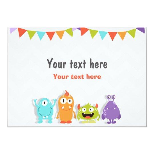 Inserte el pequeño cumpleaños de la muestra de la invitación 12,7 x 17,8 cm