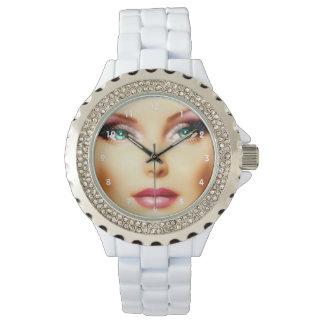 Inserte su propia imagen elegante reloj