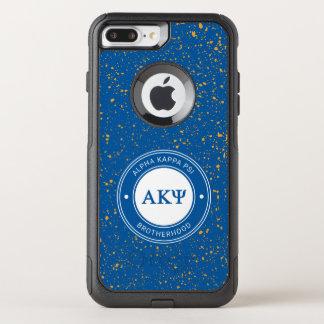 Insignia alfa de Kappa PSI el   Funda Commuter De OtterBox Para iPhone 7 Plus