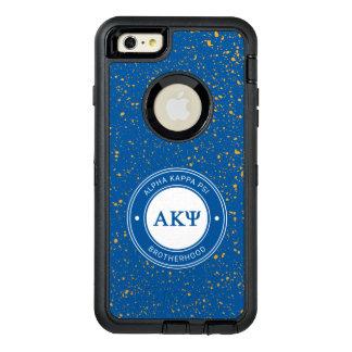 Insignia alfa de Kappa PSI el   Funda OtterBox Defender Para iPhone 6 Plus