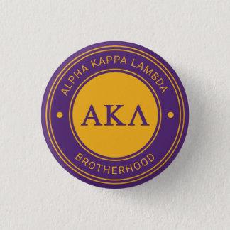 Insignia alfa de la lambda el | de Kappa Chapa Redonda De 2,5 Cm