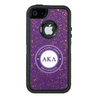 Insignia alfa de la lambda el | de Kappa Funda OtterBox Defender Para iPhone 5