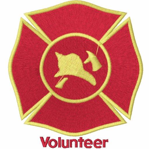 Insignia bordada del bombero