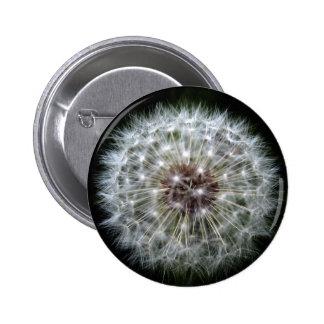 Insignia/botón del reloj del diente de león chapa redonda de 5 cm