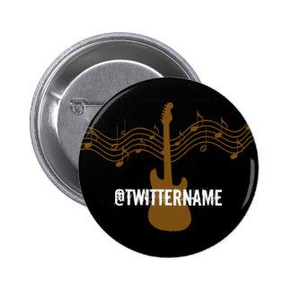 insignia conocida del gorjeo musical pin